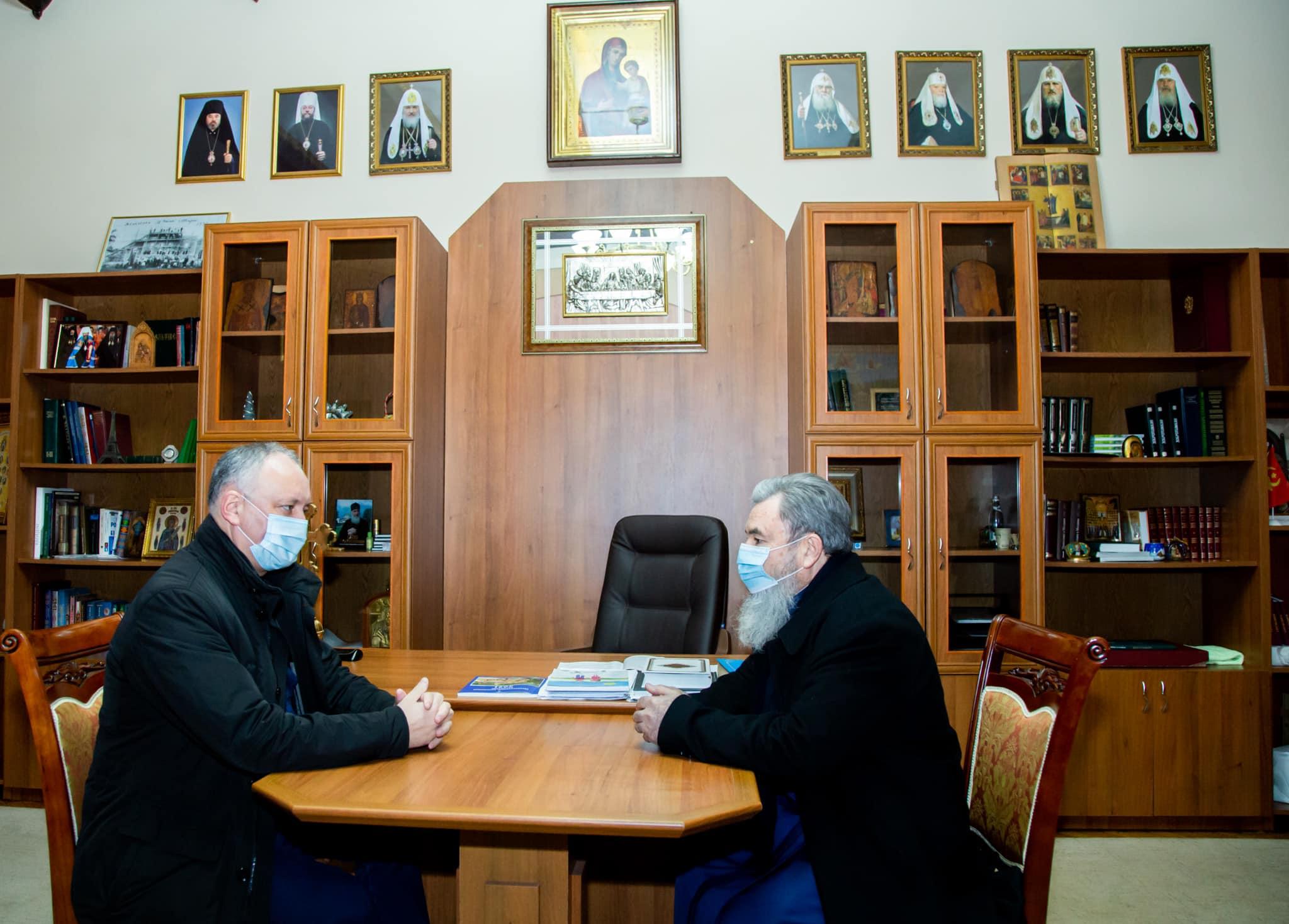 Всегда защищал и буду далее защищать Православную церковь Молдовы! – Додон (ФОТО, ВИДЕО)