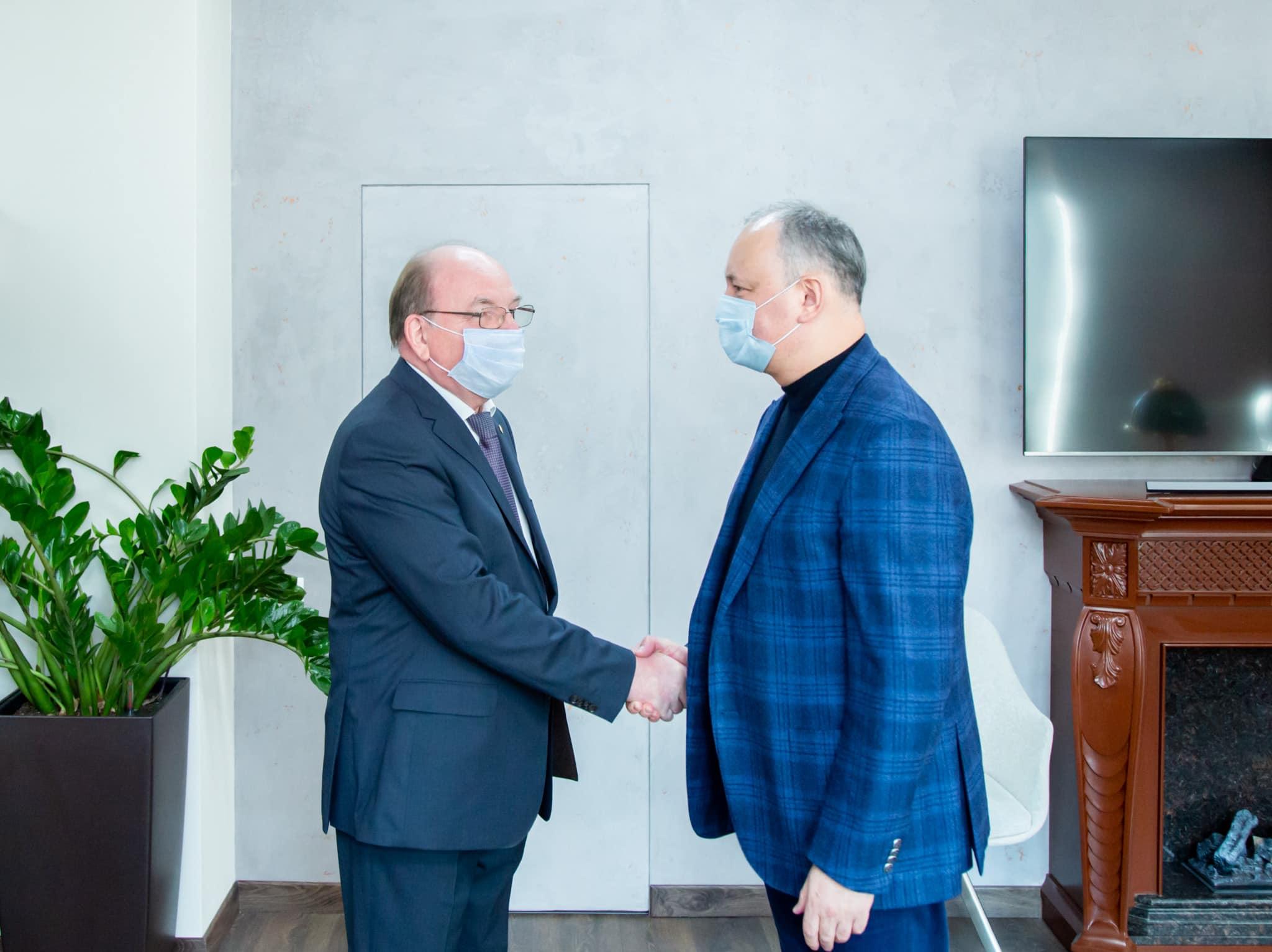 Додон обозначил три приоритетных вопроса в повестке отношений с Россией (ФОТО, ВИДЕО)