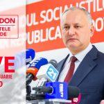 Игорь Додон снова ответит на вопросы граждан в прямом эфире