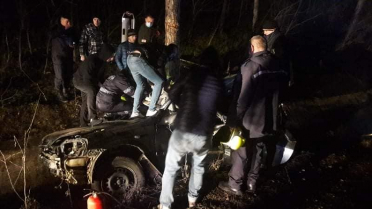 В результате аварии в Хынчештах пострадали двое взрослых и ребёнок (ФОТО)