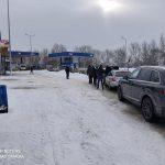 На КПП Паланка затруднено трансграничное движение