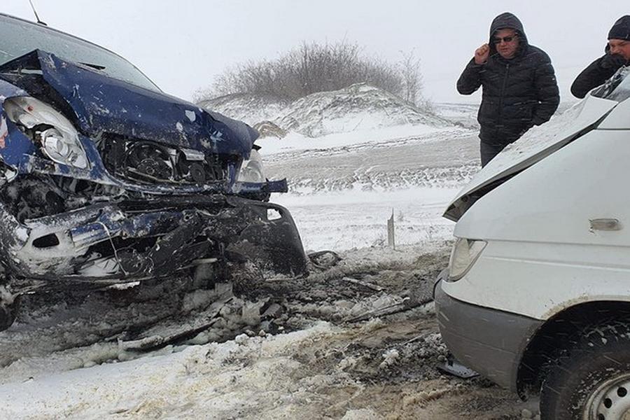 Жительница Чадыр-Лунги пострадала в серьёзном ДТП