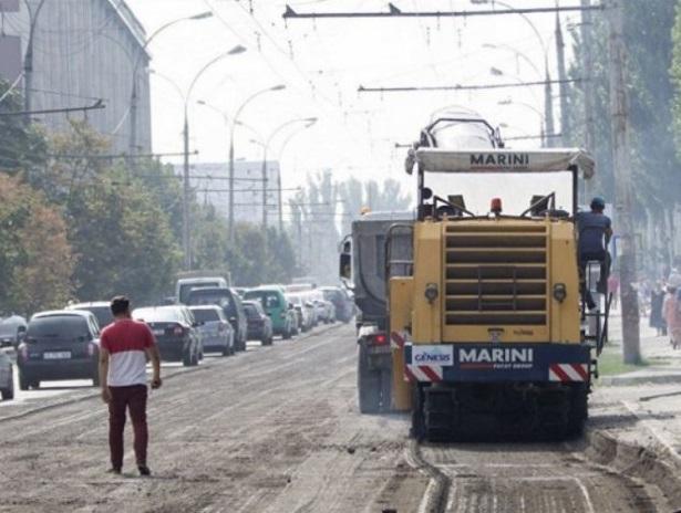 Более 100 улиц Кишинёва были частично отремонтированы за последний месяц