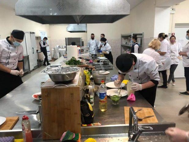Курсы веганской и вегетарианской кухни открылись в профессиональном училище в Бубуечь