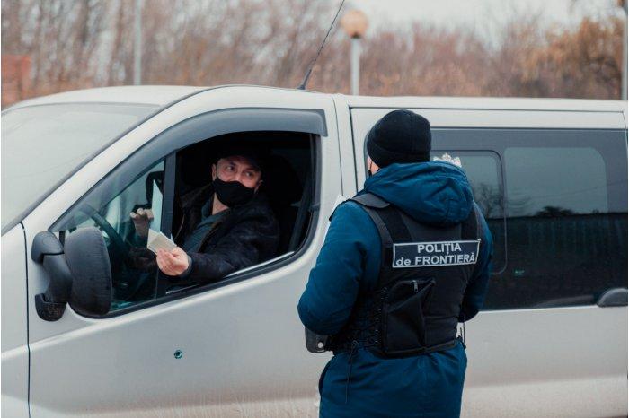Число пересечений молдавской границы сократилось в 2020 году на 70%