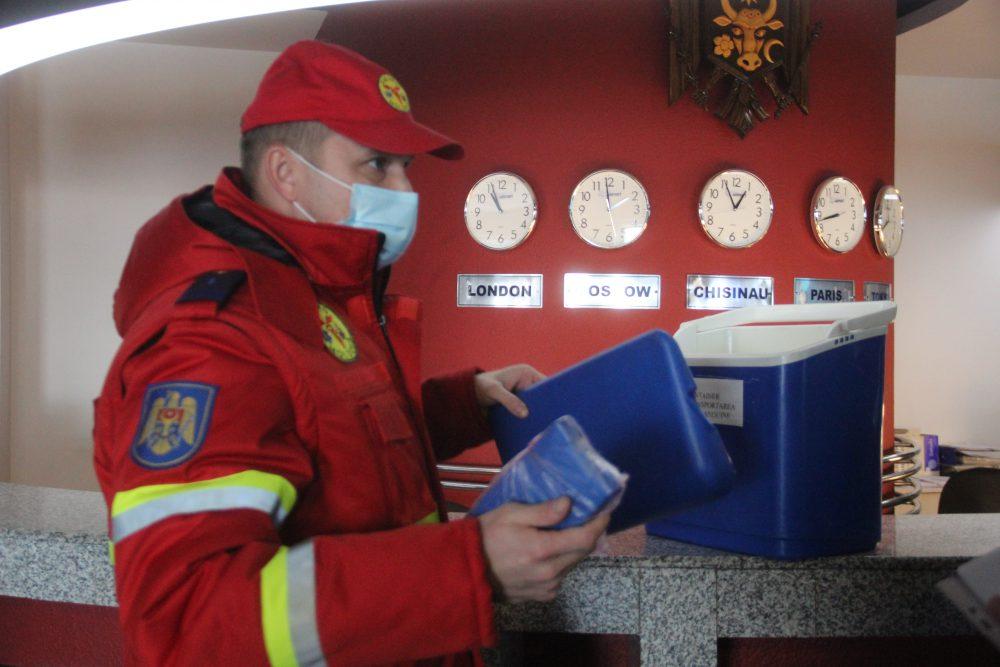 SMURD доставил из Кишинёва в Румынию лекарство для тяжёло больного пациента