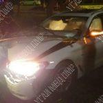 """В Тирасполе автоледи врезалась в дерево, включила """"аварийку"""", закрыла машину и ушла с места ДТП"""