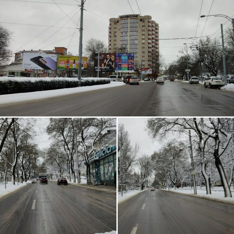 Снегопад не нарушил работу общественного транспорта в столице