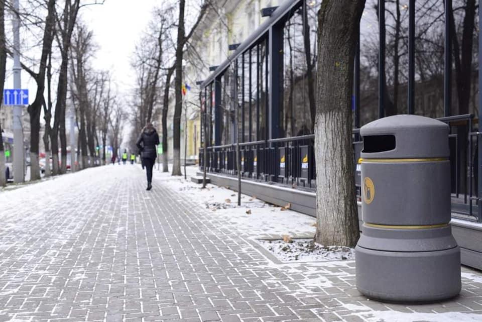 Чебан: В этом году урны для мусора появятся и там, где их никогда не было