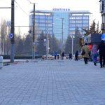 Близится к завершению ремонт тротуара на улице Каля Ешилор