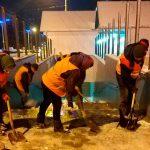 Примария работает над очисткой тротуаров и дорог. Граждан просят быть внимательными (ФОТО)