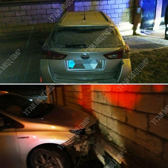 Врезался в забор: пьяный водитель спровоцировал ДТП