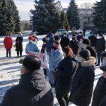 «Верните русский язык!»: Жители Окницы и Бричан вышли на протесты