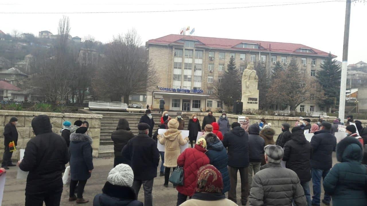 В Глодянах, Сороках и Кагуле прошли митинги в защиту русского языка