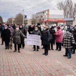 Жители Унген, Тараклии, Фалешт и Рышкан вышли на акции протеста против решения КС