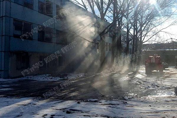 Нарушение правил безопасности привело к пожару