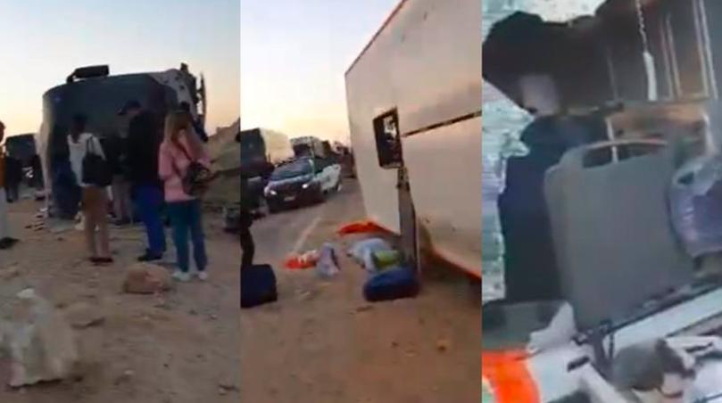 В Египте перевернулся автобус с туристами: в нём находились два гражданина Молдовы