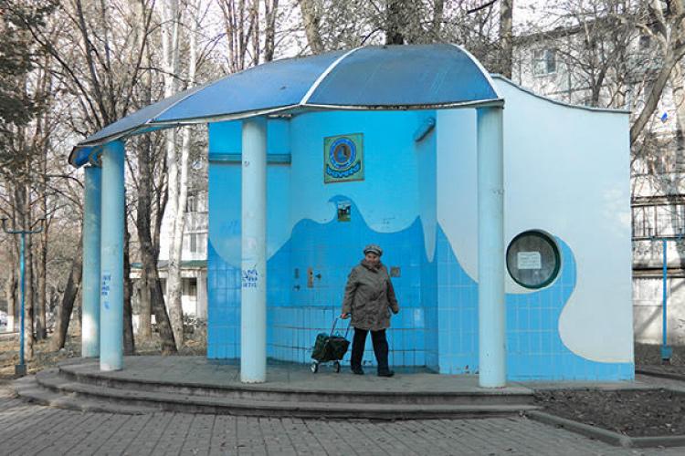 Бювет на улице Трандафирилор временно меняет график работы