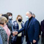 Игорь Додон продолжит оказание посильной помощи населённым пунктам страны (ФОТО, ВИДЕО)