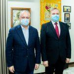 Додон провёл встречу с послом Украины в Молдове (ФОТО, ВИДЕО)