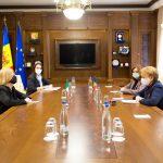 Гречаный выступила за скорейшее подписание Соглашения о соцобеспечении между Молдовой и Италией