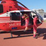 SMURD доставил из Окницы в Кишинёв пенсионерку с ожогами (ФОТО)