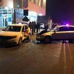 Водитель такси госпитализирован после серьёзной аварии в столице
