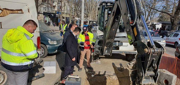 Улица Иона Крянгэ будет частично перекрыта до конца марта