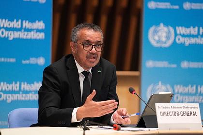 ВОЗ заявила о снижении заболеваемости COVID-19 в мире