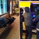 В Бельцах карабинеры спасли мужчину, уснувшего на скамейке