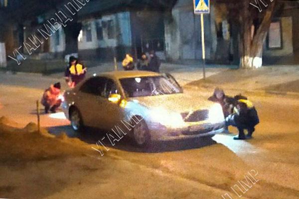 В Дубоссарах пенсионер попал под колёса автомобиля