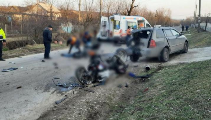 В жутком ДТП в Новых Аненах погиб мотоциклист