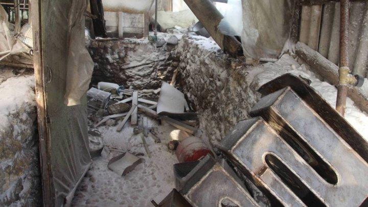 Трагедия в Унгенах: при взрыве отопительного котла погиб мужчина