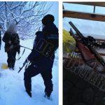 Двух браконьеров поймали с поличным в приграничной зоне (ВИДЕО)