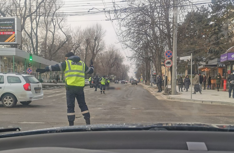 ДТП в центре столицы: пешеход попал под колёса автомобиля
