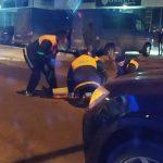 ДТП на Ботанике: девушка оказалась под колёсами авто