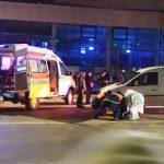 Женщина попала под машину на пешеходном переходе (ФОТО)