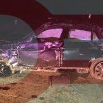 В Яловенах BMW превратился в груду металла в результате ДТП. Водитель был пьян (ФОТО)
