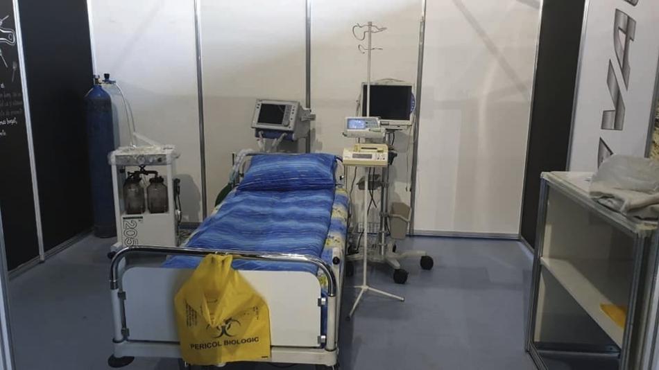 В столице повторно активировали ещё 110 коек для больных коронавирусом
