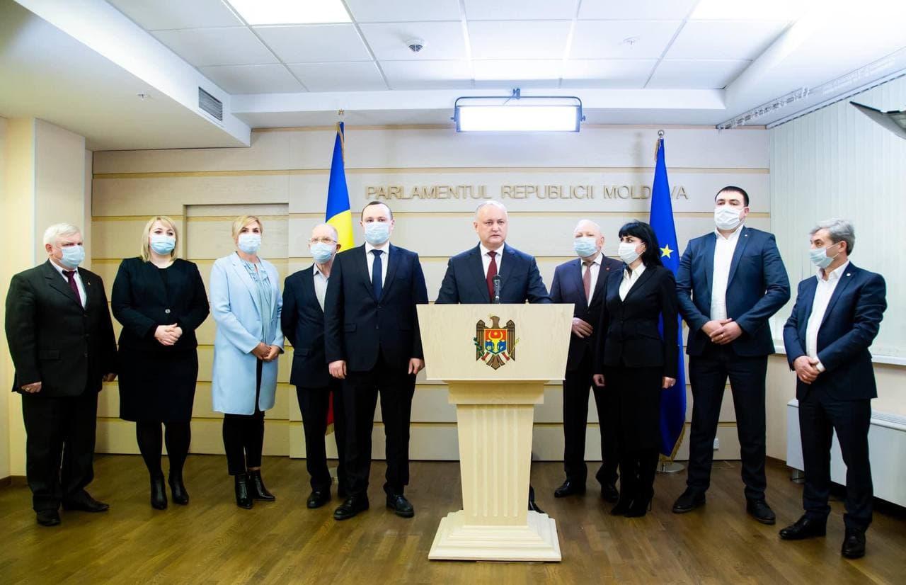 ПСРМ обратится в Конституционный суд по факту узурпации власти Майей Санду