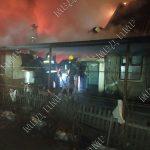 Крупный пожар вспыхнул в Бендерах (ВИДЕО)