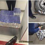 Около 15 000 сигарет пытались незаконно провезти через границу (ВИДЕО)