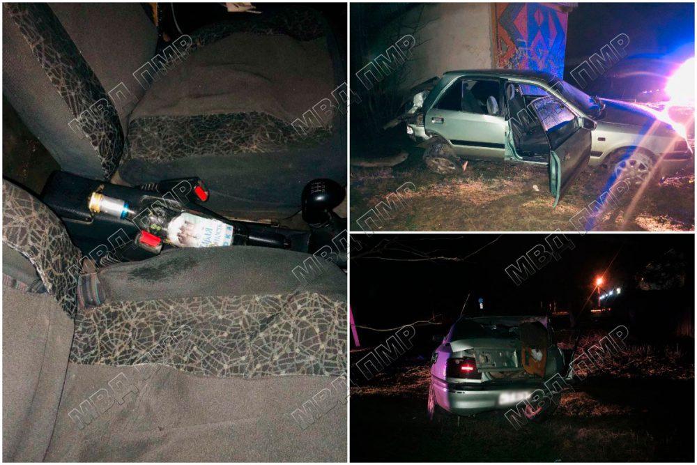 Пьяный водитель устроил ДТП после ссоры с женой