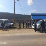 В аварии с участием рейсового микроавтобуса пострадали 4 человека