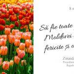 Зинаида Гречаный: Желаю, чтобы все женщины Молдовы были здоровы, любимы и счастливы!