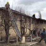 В Штефан-Водэ ликвидировали пожар на складе с зерном (ФОТО)