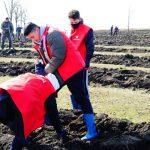 Молодогвардейцы дали старт национальной кампании по озеленению (ФОТО)