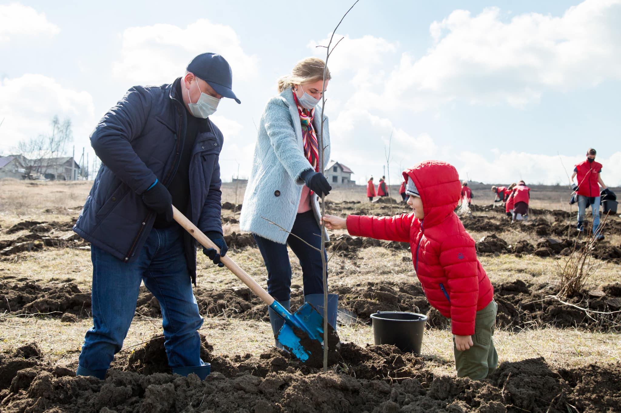 Додон: Мы должны оставить потомкам красивую, зелёную Молдову! (ФОТО, ВИДЕО)