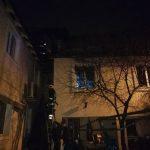 В столице загорелся частный дом