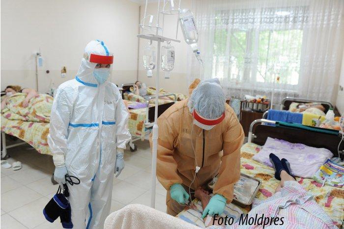 В больницах Кишинёва осталось всего 12 мест для пациентов с COVID-19